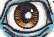 Sketch Card - Third Eye