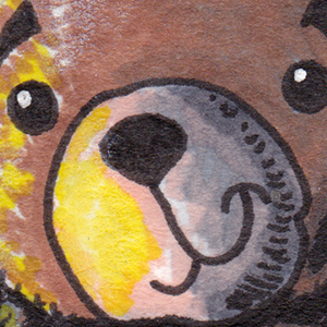 Sketch Card - Murderous Teddy Bear