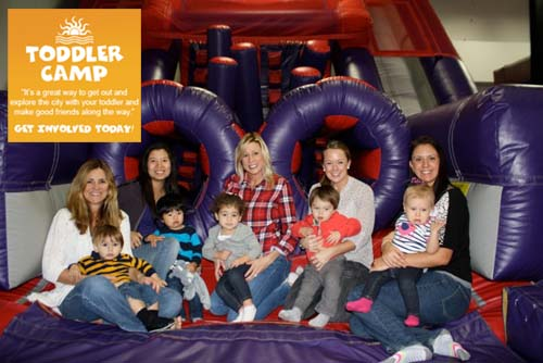 Toddler Camp Bounce