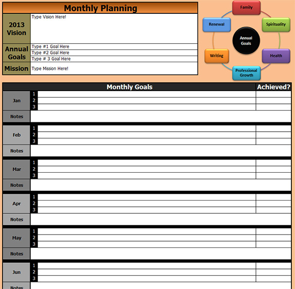 Success-Plan-Monthly-Goals
