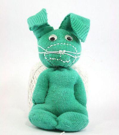 como hacer un muñeco reciclado