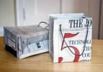 Como hacer una bolsa de regalo con papel recilado