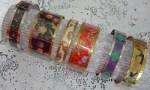 Como hacer pulseras con plastico