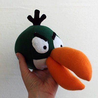 angry birds peluche