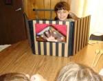 Como hacer un teatro para marionetas
