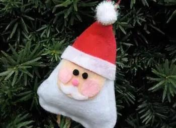 manualidades de navidad con fieltro