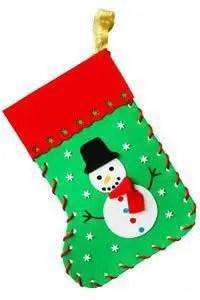 botas navideñas con moldes