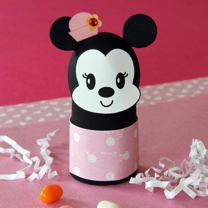 Como hacer un porta huevos de Minnie