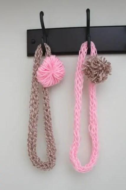 Como hacer colgantes con lana todo manualidades - Como hacer manualidades con lana ...