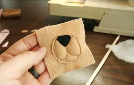 como hacer juguetes de fieltro