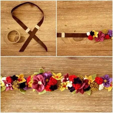 de todas las manualidades como hacer una corona de flores