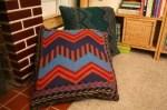 Como hacer almohadones gigantes para el pisos con viejos sweaters