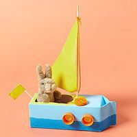 Como hacer un barco de carton