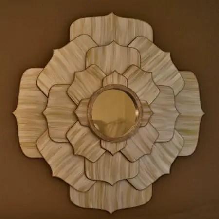 Como hacer espejos decorativos todo manualidades - Formas de espejos ...