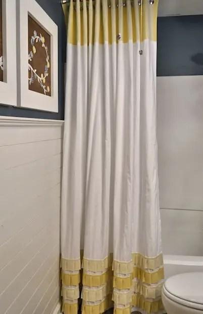 Cortinas de ba o a crochet for Ganchos para cortinas de tela