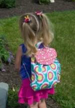 Como hacer una mochila de tela para niños