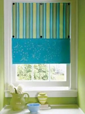 Como hacer una persiana de tela todo manualidades - Persianas de tela ...