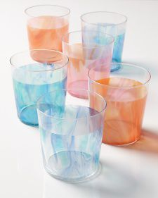 como decorar vasos de vidrio