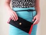 Como hacer una cartera de mano sin costura