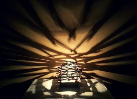 ideas para hacer lamparas rusticas
