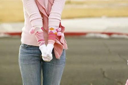 como hacer guantes largos
