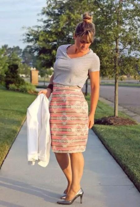 Como hacer una falda recta
