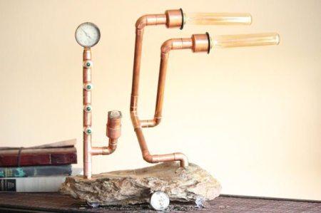 como hacer lamparas caseras originales