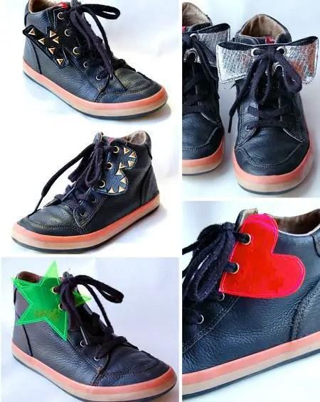 como decorar zapatillas viejas