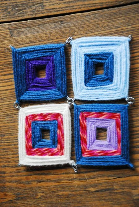 posa pava a crochet