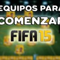 Equipos para comenzar FIFA 15