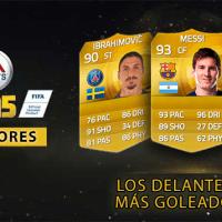 Los delanteros más goleadores de FIFA 15