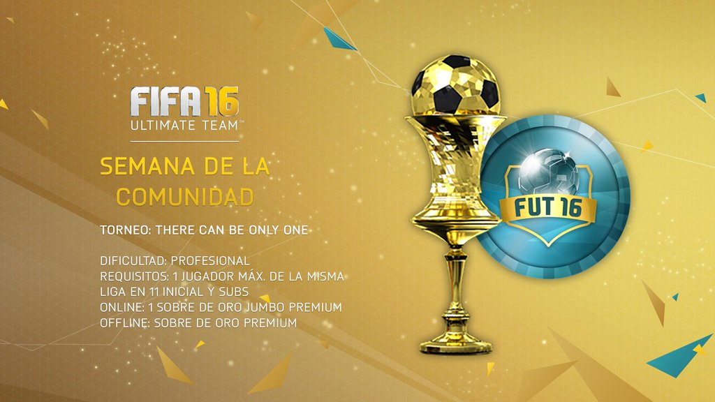 Torneo FUT16: There Can Be Only One (Online & Offline)