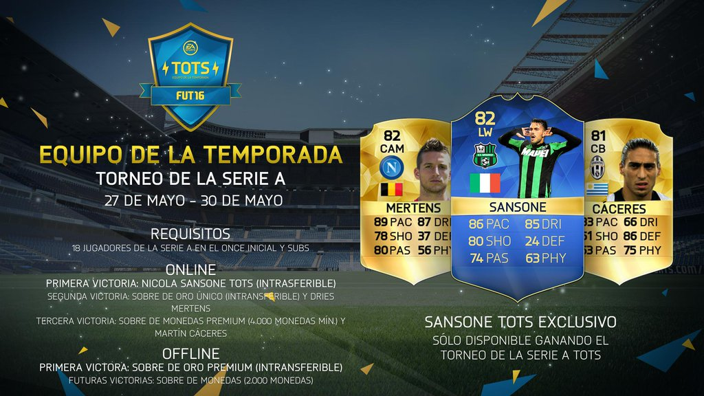 Torneo: Serie A TOTS Cup