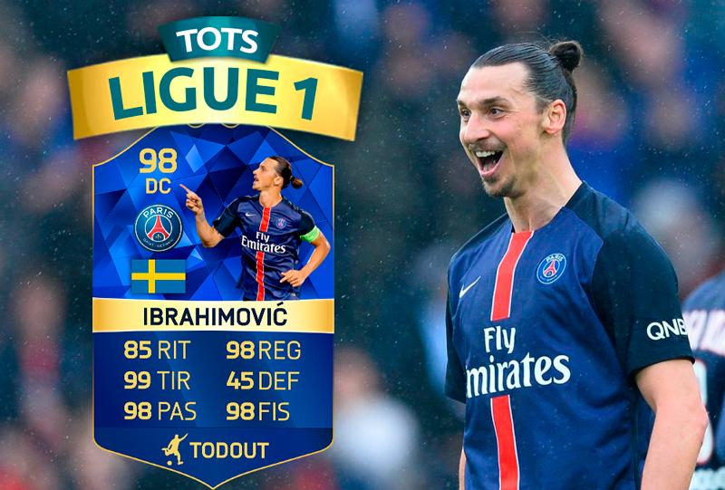 Predicción Ligue 1 TOTS - FUT16
