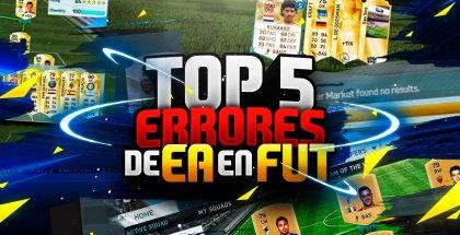 TOP errores EA