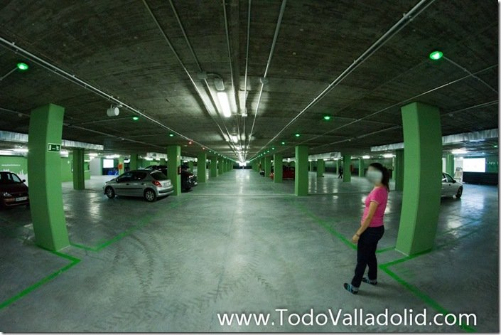 Valladolid cupula del milenio  parking
