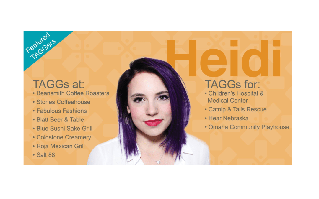 Meet Our Featured TAGGer: Heidi