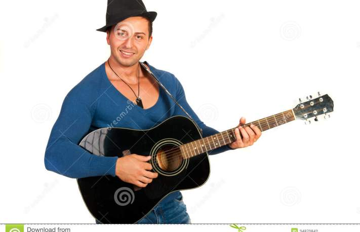 cool-guy-hat-playing-guitar-isolated-white-background-34870842