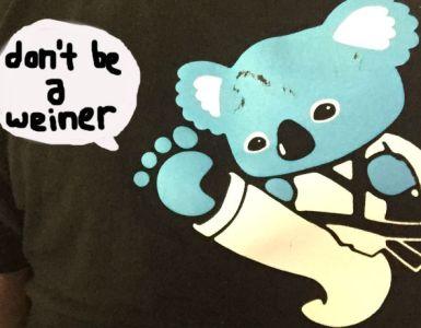 Dont be a weiner