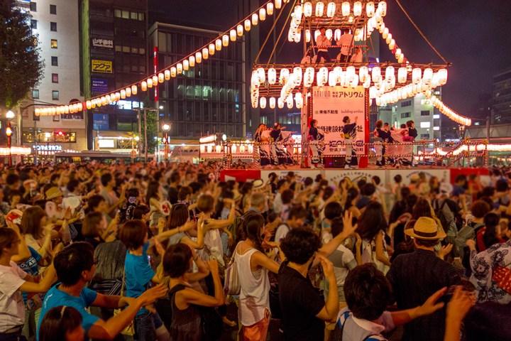 恵比寿 盆踊り