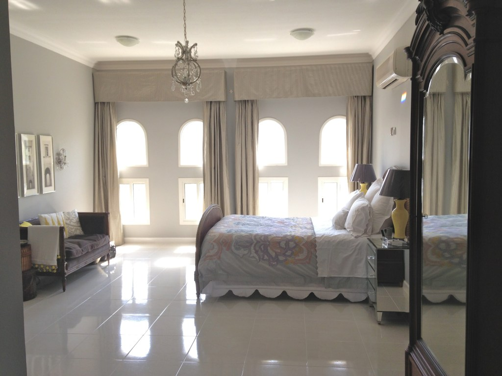 Doha master bedroom
