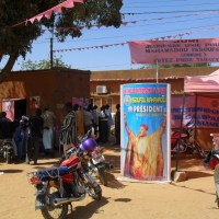 The PNDS Campaign headquarters in Niamey, photo from Niger Elections.