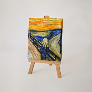 The Scream by Tom Deacon (after Edvard Munch)