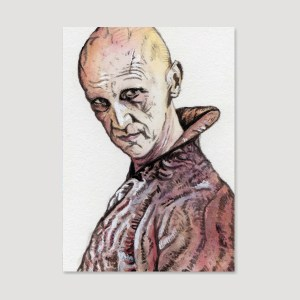 Pyat Pree Sketch Card by Tom Deacon