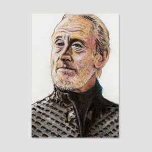 Tywin Lannister Sketch Card by Tom Deacon
