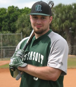 Damien Bellotti broke open the game with a big two rbi single for the Warriors in a victory over the Bunker Hill CC Bull Dogs.