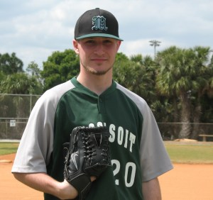 Shane Holmes scattered eight hits and struck out seven to pick up the win for the Warriors.