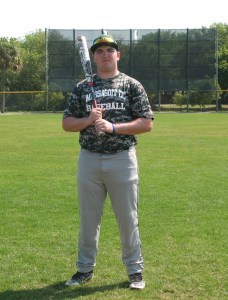 Justin Martinho had a four hit day and rove in a pair of runs in a 10-6 loss to Dean College.