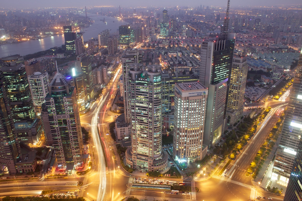 Standard Chartered Tower, 201 Century Avenue, Shanghai  Photo: Tom Pietrasik Shanghai, China November 2011
