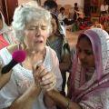 Susan ministering to needs near Karimnagar.